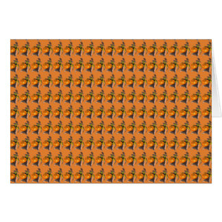 Halloween Pumpkin Dance Color Designed Card