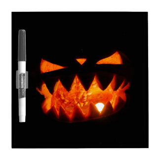 Halloween Pumpkin Dry Erase Board