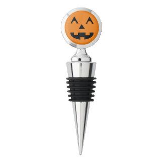 Halloween Pumpkin Face Wine Stopper