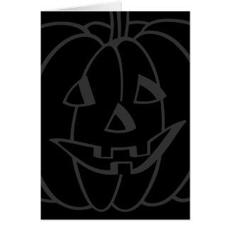 Halloween Pumpkin Fade Card