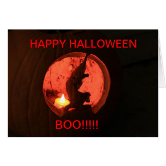 Halloween Pumpkin Halloween CARD