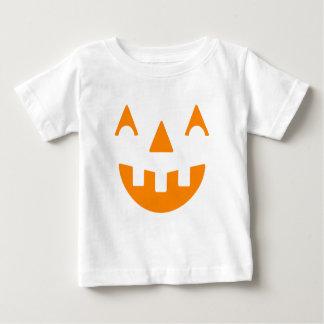 Halloween Pumpkin Happy Face Baby T-Shirt