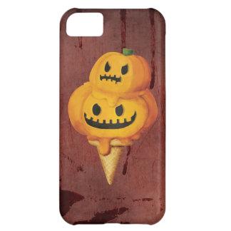 Halloween Pumpkin Ice Cream Cone iPhone 5C Cases