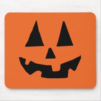 Halloween Pumpkin Jack-o-Lantern Mouse Pad