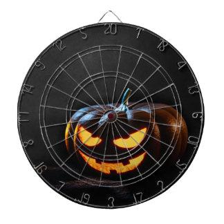 Halloween Pumpkin Jack-O-Lantern Spooky Dartboard
