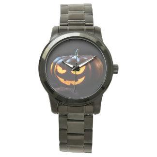 Halloween Pumpkin Jack-O-Lantern Spooky Watch
