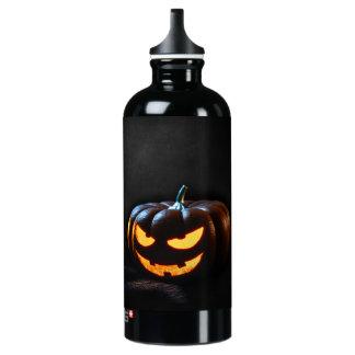 Halloween Pumpkin Jack-O-Lantern Spooky Water Bottle