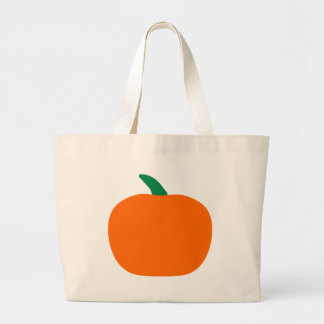 Halloween Pumpkin Jumbo Tote Bag