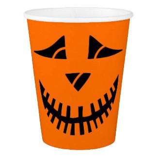 Halloween Pumpkin Paper Cup