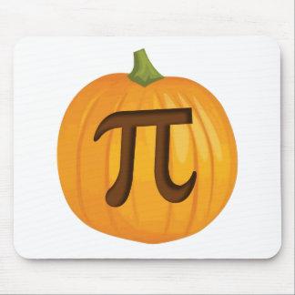 Halloween Pumpkin Pie Pi Mouse Pads
