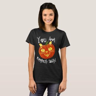 Halloween Pumpkin Pussy Looks Tasty! T-Shirt