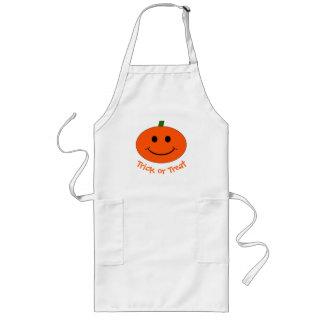 Halloween Pumpkin Smiley Apron
