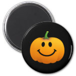 Halloween Pumpkin Smiley face Refrigerator Magnet
