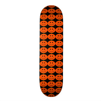 Halloween Pumpkin Smileys Skateboard