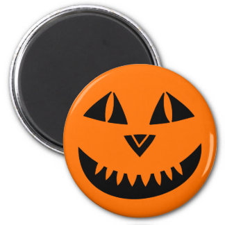 Halloween Pumpkin Smiling Magnet