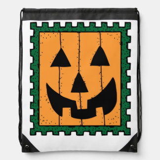 HALLOWEEN PUMPKIN STAMP BACKPACK