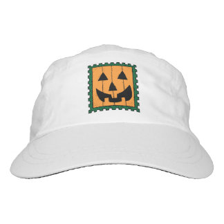 HALLOWEEN PUMPKIN STAMP HAT