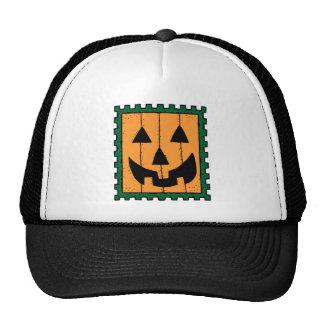 Halloween Pumpkin Stamp Hats
