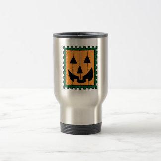 Halloween Pumpkin Stamp Mugs