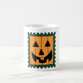 Halloween Pumpkin Stamp Coffee Mug