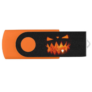Halloween Pumpkin USB Flash Drive