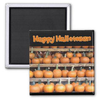 Halloween Pumpkin Wall Square Magnet