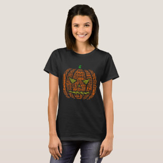 halloween pumpkin wordle design T-Shirt