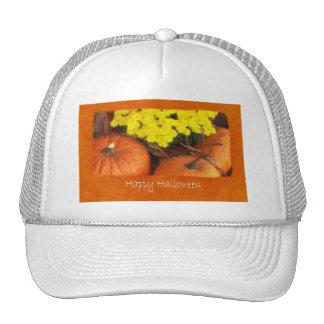 Halloween Pumpkins 2 - Happy Halloween Cap