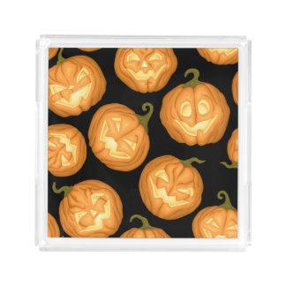 Halloween pumpkins acrylic tray