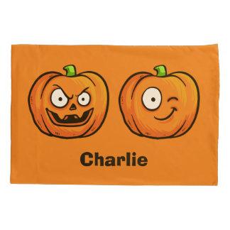 Halloween Pumpkins custom name pillowcases