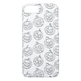 Halloween pumpkins iPhone 7 case
