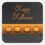 Halloween Pumpkins Jack-o-Lantern - Sticker