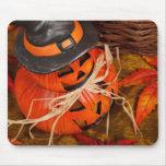 Halloween Pumpkins Mouse Pad
