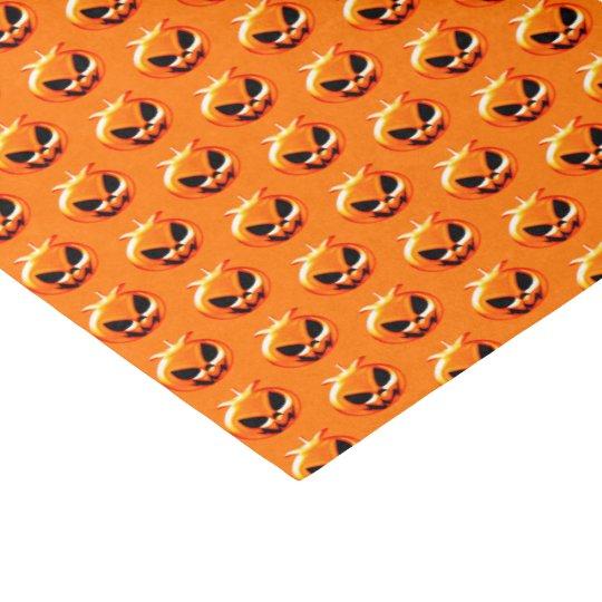 Halloween Pumpkins Orange Tissue Paper