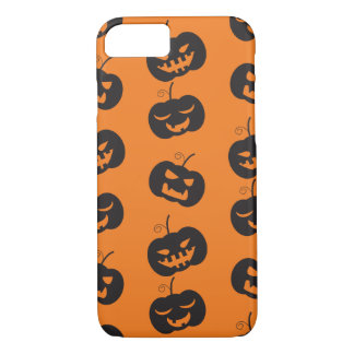 Halloween pumpkins pattern iPhone 7 case