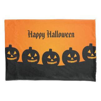 Halloween Pumpkins Pillow Case
