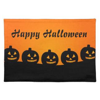 Halloween Pumpkins Place Mat