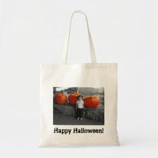 Halloween Pumpkins Trick or Treat Bag