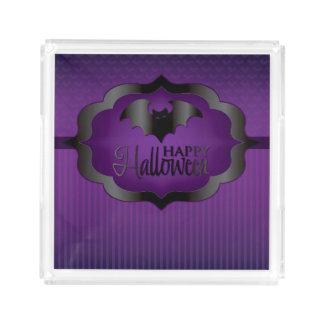 Halloween purple bat