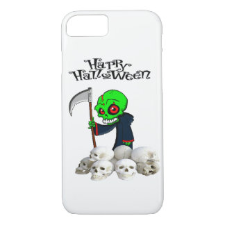 Halloween reaping skulls Iphone case