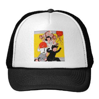 Halloween Retro Vintage Children's Costume Party Trucker Hat