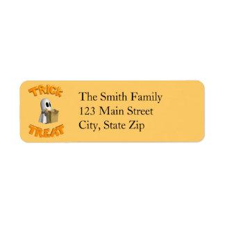 Halloween Return Address Labels