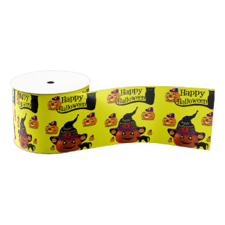 Halloween Ribbon Grosgrain Ribbon
