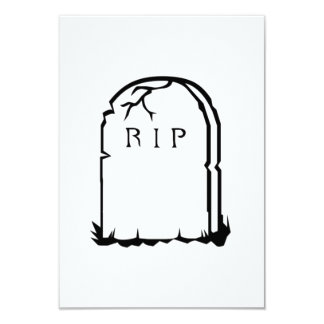 Halloween RIP Tombstone Announcements