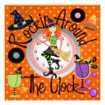 Halloween Rockin' Around the Clock Party - SRF Personalized Invites