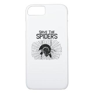 Halloween Save Spiders Web Costume iPhone 8/7 Case