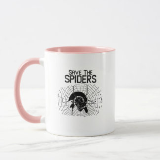 Halloween Save Spiders Web Costume Mug