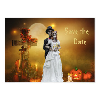 Halloween Save the Date Card