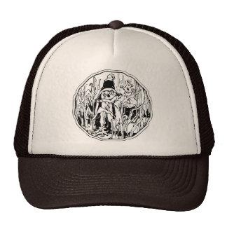 Halloween Scarecrow Hat