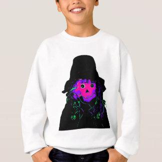Halloween Scarecrow Magenta The MUSEUM Zazzle Gift Sweatshirt